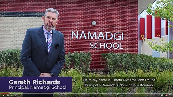 Namadgi Enrolments
